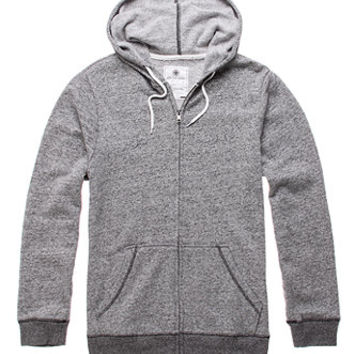 On The Byas Atlas Marled Zip Hoodie at PacSun.com