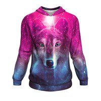 Pink She Wolf Hoodie