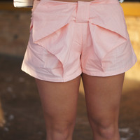 Bows In The Front Shorts