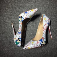 Christian Louboutin Cl Pumps High Heels Reference #02bk56 - Best Deal Online