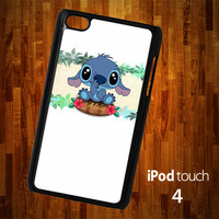 B1312 Lilo and Stitch Aloha Ipod 4 Case