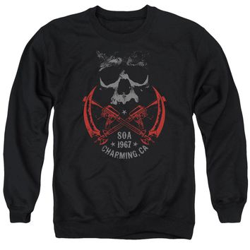 Sons Of Anarchy - Cross Guns Adult Crewneck Sweatshirt