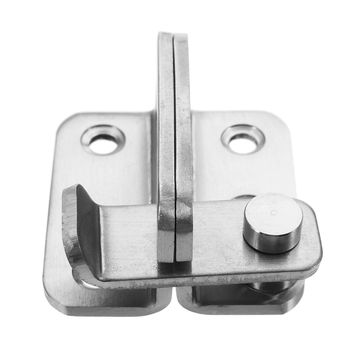 Stainless Steel Sliding Lock Heavy Duty Window Door Gate Safety Barrel Bolt Latch  Hasp