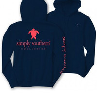 Simply Southern Hoodie - Navy