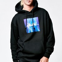 Primitive Thrashed Lightning Pullover Hoodie - Mens Hoodie - Black