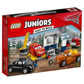LEGO® Juniors Disney™Pixar™ Cars 3 Smokey's Garage 10743