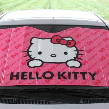 Hello Kitty Sunshade For Car