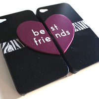 Best Friends iPhone 4 cases by VanityCases on Etsy