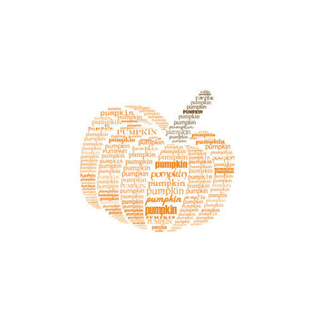 Pumpkin Typographic print Kitchen decor Kitchen art Kitchen wall art Pumpkin print Print art Instant download Digital print Home decor print