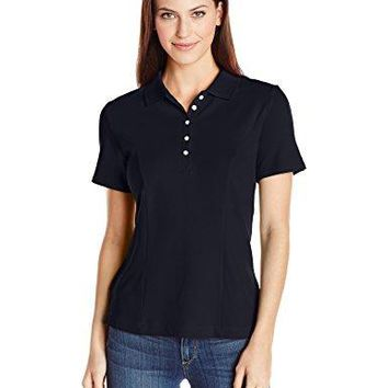 Riders by Lee Indigo Womens ShortSleeve Polo Shirt