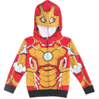 Marvel Iron Man 3 Toddler Zip Hoodie