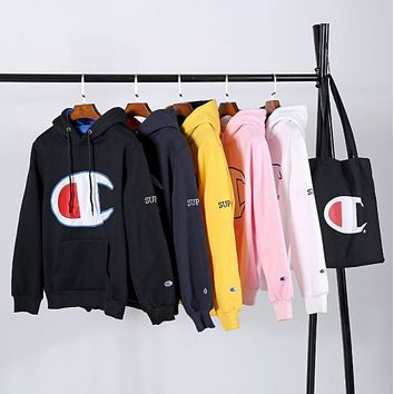 Champion Men and women hooded sweater coat