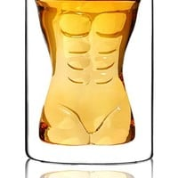 Muscle Man and Hot Sexy Women Body Shape Funny Drink Cups