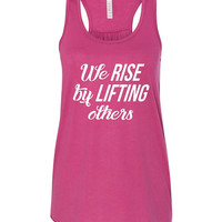 WWOW - We Rise by Lifting Others - Ruffles with Love - Inspirational Shirt - RWL