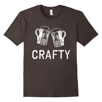 CRAFTY CRAFT BEER T-SHIRT