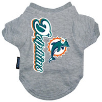 Miami Dolphins Dog Tee Shirt - Extra Large