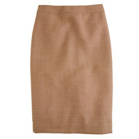 J.Crew Womens No. 2 Pencil Skirt In Double-Serge Wool