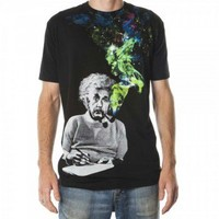Einstein Smoking Colors Men's Tshirt