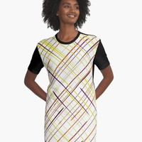 'Starstruck' Graphic T-Shirt Dress by David Darcy