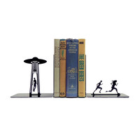 Metal UFO Abduction Bookends
