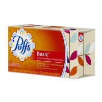 Puffs Basic Facial Tissue White - 96 CT