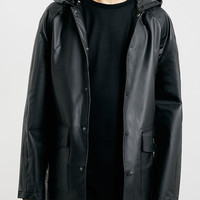 Black Semi-Transparent Rain Mac - Topman