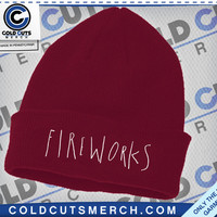 Fireworks Logo Beanie | Cold Cuts Merch