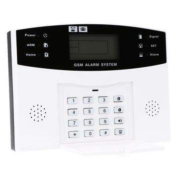 433Mhz Wireless GSM SMS House Security Burglar Intruder System Detector Sensor Kit Remote Control By APP/SMS Alarm System