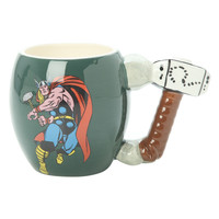 Marvel Comics The Mighty Thor Oval Mug