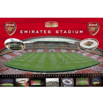 Arsenal FC Emirates Stadium Poster officially licensed product new EPL Gunners