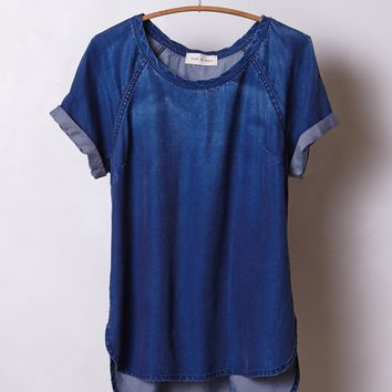 Brentwood Denim Tee