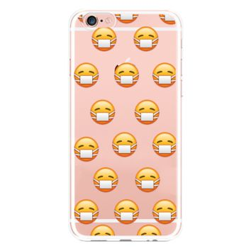 New fashion iphone6s cute expression phone case protective cover