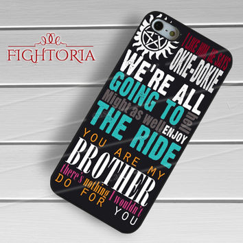 Winchester's Quote - zDzD for  iPhone 6S case, iPhone 5s case, iPhone 6 case, iPhone 4S, Samsung S6 Edge