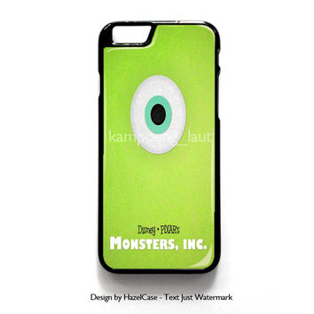 Monster Inc Green Mike for iPhone 4 4S 5 5S 5C 6 6 Plus , iPod Touch 4 5  , Samsung Galaxy S3 S4 S5 Note 3 Note 4 , and HTC One X M7 M8 Case Cover