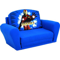 Marvel Kids Iron Man 2 Sleepover Sofa - Blue | Meijer.com