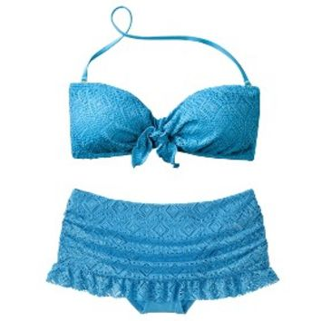 Mossimo® Women's Crochet Mix and Match Collection 1 -Cool Blue