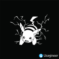 POKEMON PIKACHU V2 GAME DECAL STICKER