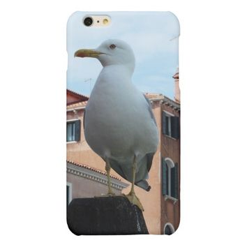 Seagull in Venice iPhone Case