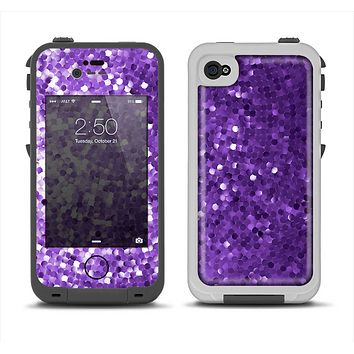 The Purple Shaded Sequence Apple iPhone 4-4s LifeProof Fre Case Skin Set