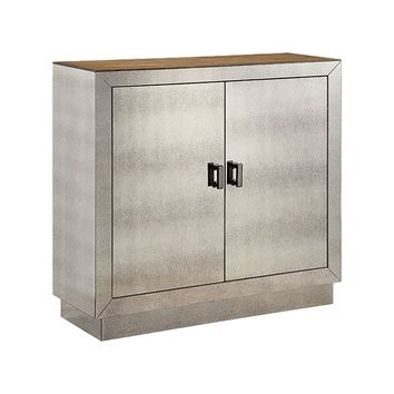 PHIPPS MIRRORED ACCENT CABINET