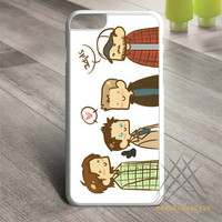 Supernatural funny cartoon Custom case for iPhone, iPod and iPad