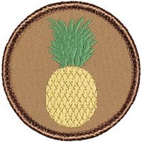"Pineapple Patrol Patch - 2"" Round - FREE SHIPPING!"