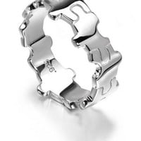Jigsaw Ring (Sterling Silver) from LucyQ Designs | Made By LucyQ | £48.00 | Bouf