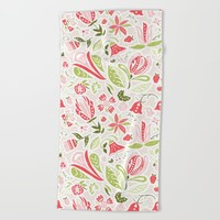 Summer Delight Beach Towel by Noonday Design | Society6
