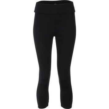 Solow Eclon Crop Fold-Over Legging - Women's