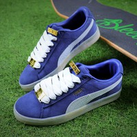 Puma Suede Classic BBOY Fabulous 50th Blue White Shoes - Best Online Sale