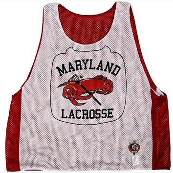 Maryland Crab Lacrosse Pinnie
