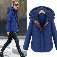 8842# European 2016fat women plus size hooded cotton liner parka winter down jacket coats clothing women plus size xxxl 4xl 5xl/1552339KKNN2328 [7898457543]