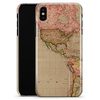 The Eastern World Overview Map - iPhone X Clipit Case