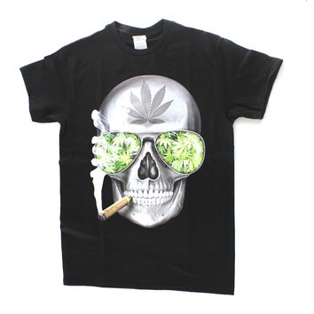 Skull Weed Blaze 420 Hip Hop Legend Rappers T Shirts